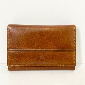 Vintage Emporio Valentini Italian Leather Wallet
